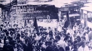 1992. Marcha del 12 de octubre